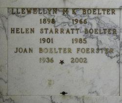 Llewellyn Michael Kraus Boelter