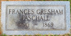 Frances Gresham Paschall