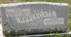 Jennie <i>Suydam</i> Applegate