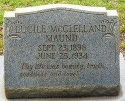 Lucille <i>McClelland</i> Maund