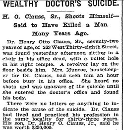 Dr Henry Otto Clauss, Sr