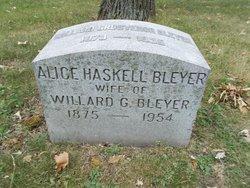Alice <i>Haskell</i> Bleyer
