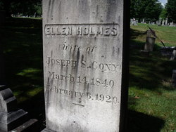 Ellen Vesta Nellie <i>Holmes</i> Cony