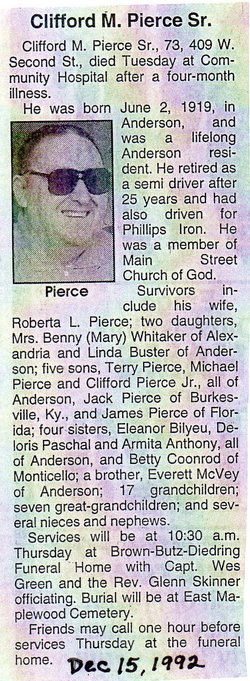 Clifford M. Pierce