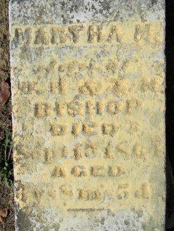 Martha M Bishop