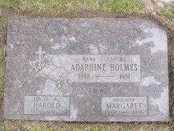 Margaret Louise Peggy <i>Holmes</i> Toney