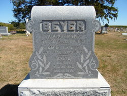 Maria <i>McCrum</i> Beyer