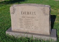 Bernice M Debus