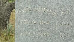 Nancy C. Nannie <i>Green</i> Anderson