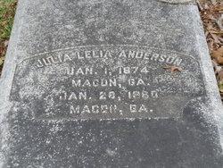 Julia Leila Anderson