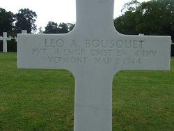 Pvt Leo A Bousquet