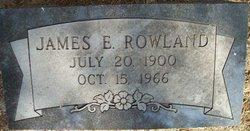 James Ervin Rowland