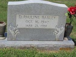 D. Pauline Baxley