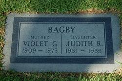 Violet Gertrude <i>Hall</i> Bagby