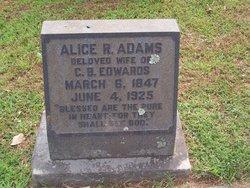 Alice Robertson <i>Adams</i> Edwards