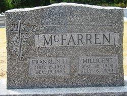 Millicent E <i>Puckett</i> McFarren