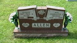 Charlotte Louise <i>Weaver</i> Allen