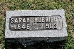 Sarah <i>Lantz</i> Albright