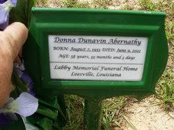 Donna Jean <i>Dunavin</i> Abernathy