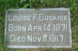 Louise F Buskirk