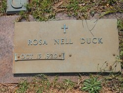 Rosa Nell <i>Stansell</i> Duck