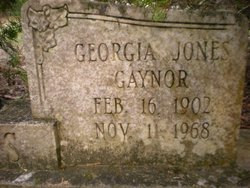 Georgia <i>Jones</i> Gaynor