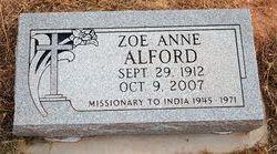 Zoe Anne Alford