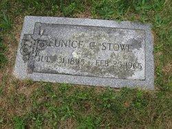 Eunice G. Stowe