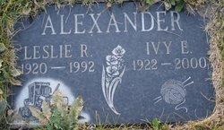 Leslie R. Alexander