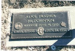 Alice <i>Prather</i> Hutchinson