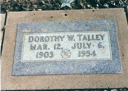 Dorothy W. Talley