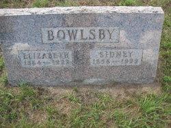 Sidney Bowlsby