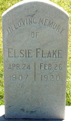 Elsie Flake