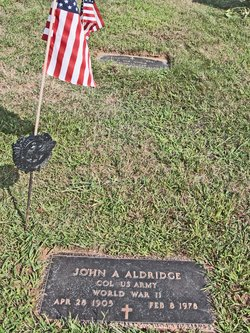 Col John Allen Aldridge