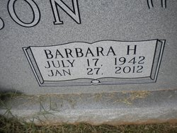Barbara <i>Hanson</i> Johnson