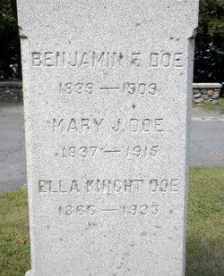 Benjamin F. Doe