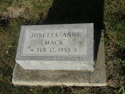 Josetta Anne Mack