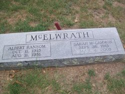 Sarah <i>McCammon</i> McElwrath