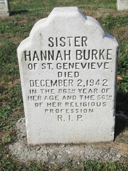 Sr Hannah Burke