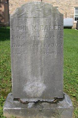 John M Baker