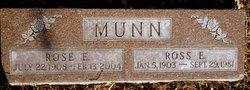 ROSE E Munn