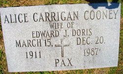 Alice Carrigan <i>Cooney</i> Doris