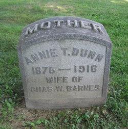 Annie T. <i>Dunn</i> Barnes