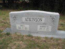 Harriet M Atkinson