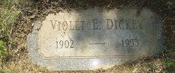 Violet E Dickey