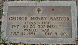 George Henry Baedor