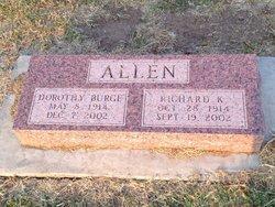 Dorothy <i>Burge</i> Allen