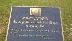 Saint Johns United Methodist Church Cemetery