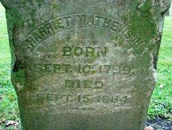 Harriet <i>Stephens</i> Mathewson