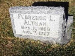 Florence L <i>Mahannah</i> Altman